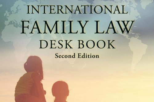 Cover Image - International Family Law Desk Book